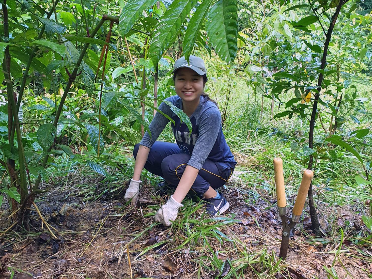 megan chin volunteering for jane goodall institute singapore